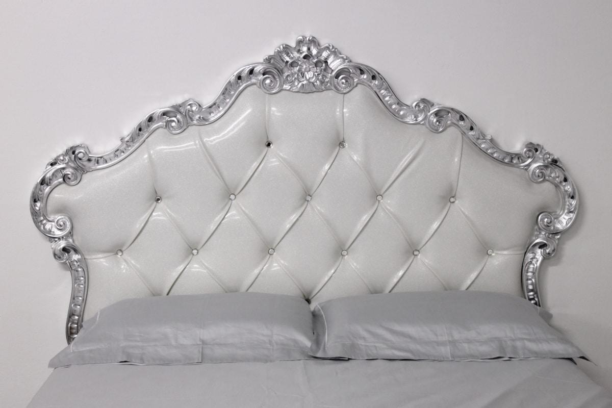 Gepolsterter Luxus-Bett mit gesteppten Kopfteil | IDFdesign