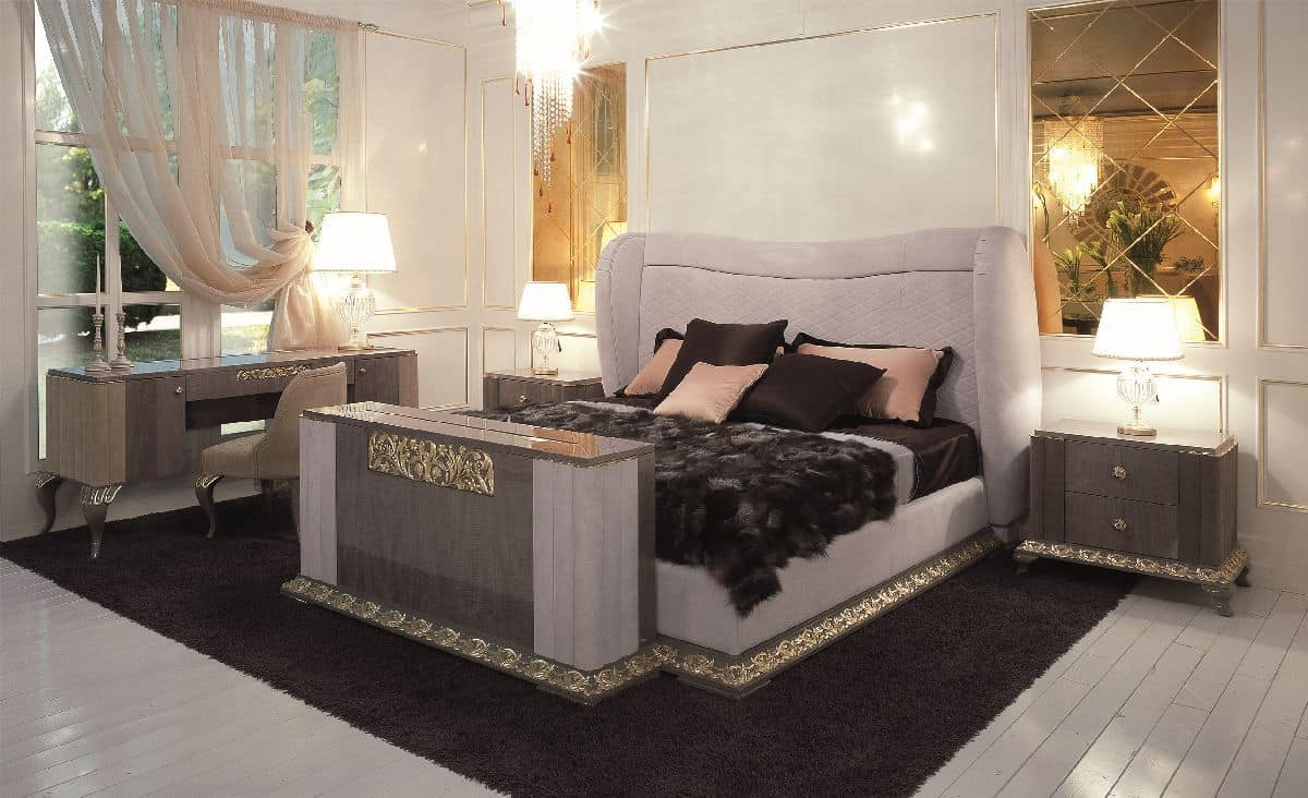 klassisches bett f r luxus hotels geeignet doppelbett. Black Bedroom Furniture Sets. Home Design Ideas