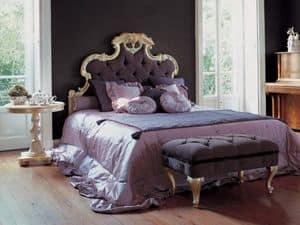 Art. 1190, Gepolstertes Bett für den klassischen Stil Schlafzimmer