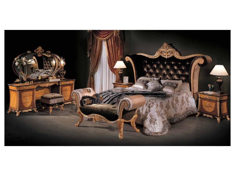 art 3131 luxus bett schlafzimmer idfdesign. Black Bedroom Furniture Sets. Home Design Ideas