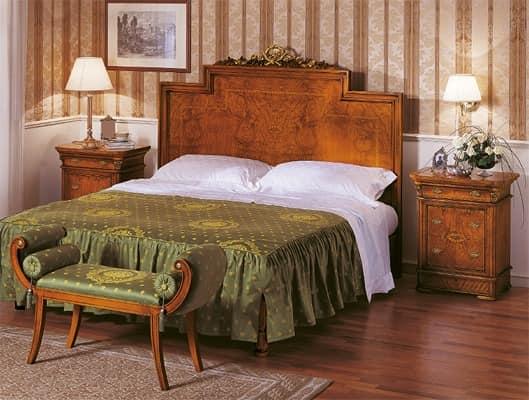 luxus klassisches bett hand dekorierte bett hand. Black Bedroom Furniture Sets. Home Design Ideas