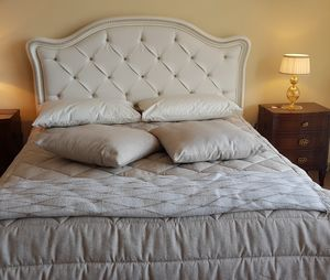 Art. 900, Klassisches Bett mit Kopfteil aus Kunstleder