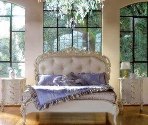 Art. 9054.170.017, Handgefertigtes Bett mit klassischem Stil