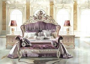 Bijoux C/741, Mit gepolstertem Kopfteil Bett, die das Klassische