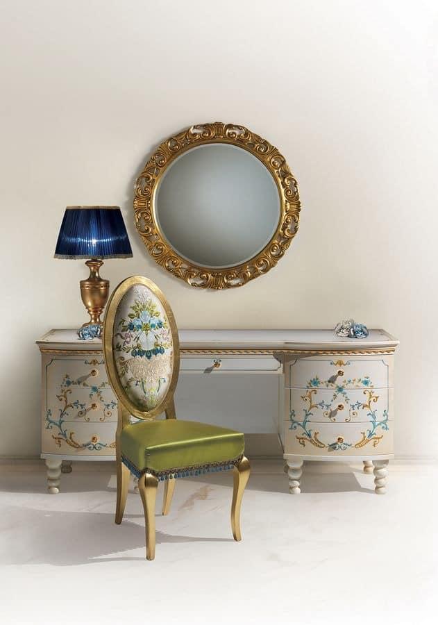 einzelbett im luxuri sen klassischen stil gepolstertem. Black Bedroom Furniture Sets. Home Design Ideas