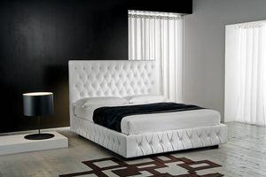 CLASS, Bett im klassischen Stil mit Stauraum