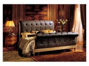 Gardenia Bett, Luxusbett mit gesteppten Kopf-und Fußteil