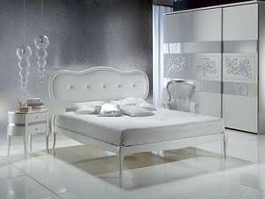 LE08 Novecento gepolsterte, Mit gepolstertem Kopfteil, elegant, für die Luxus-Hotel Bed