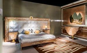LE25, Schlafzimmer mit Täfelung, Luxus klassischen Stil