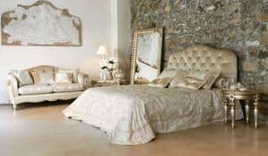 Matisse bett, Luxury klassische Bett mit Kopfteil getuftet