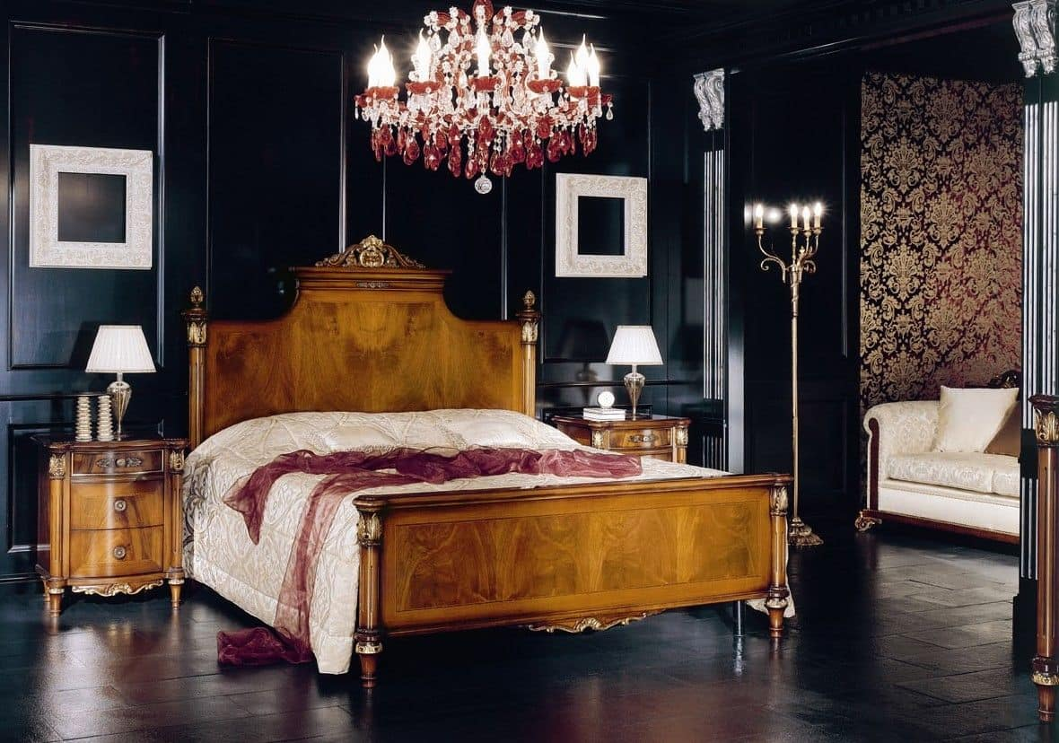 betten luxus und klassisch holz idfdesign. Black Bedroom Furniture Sets. Home Design Ideas
