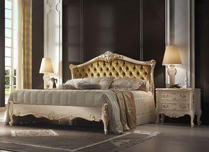 R45 / Bett, Luxuriöses Bett mit romantischem Stil