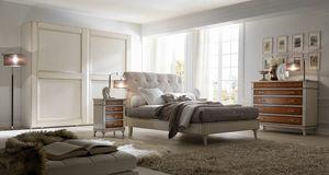 Senza Tempo letto, Bett für klassische Schlafzimmer