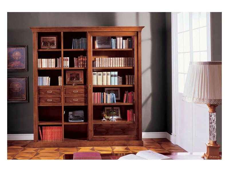album bookcase elegantes b cherregale praxis idfdesign. Black Bedroom Furniture Sets. Home Design Ideas