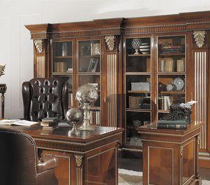 ART. 2541B, Klassisches Bücherregal aus Kirsche