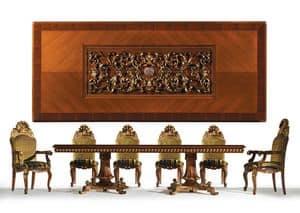 Hermitage, Tabelle in klassischen Luxus-Stil