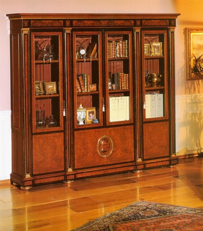 eleganter klassiker bibliothek f r professionelle studio. Black Bedroom Furniture Sets. Home Design Ideas