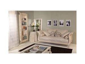 Kunst 3132 Arianna, Dekoriert Buche Bücherregal für Luxus klassische Häuser
