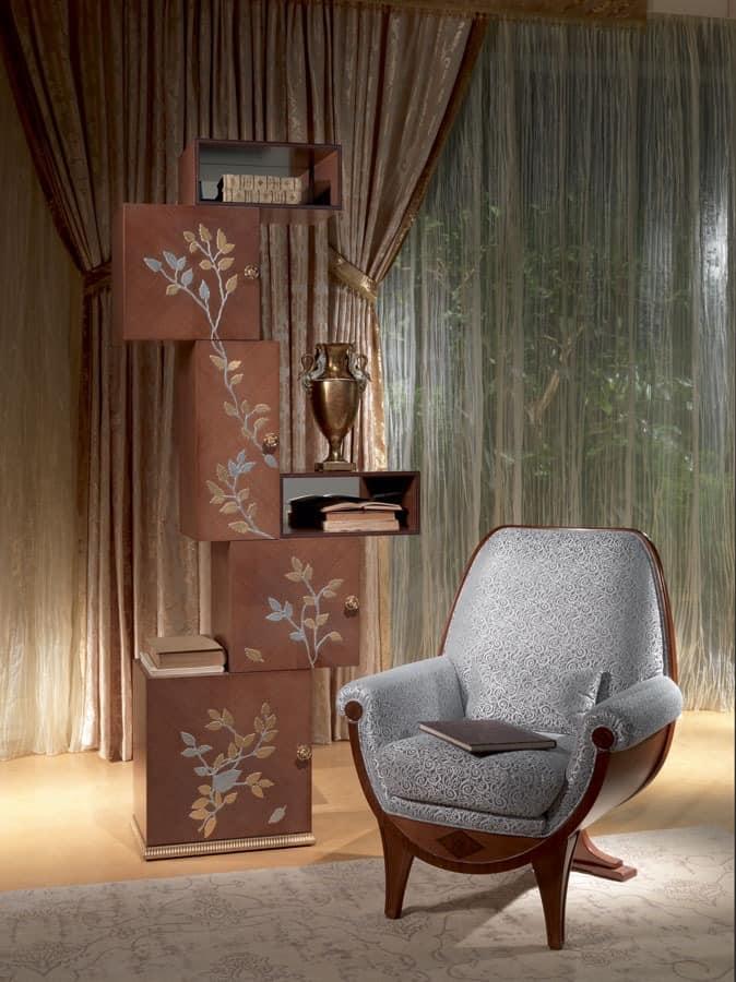 modulares b cherregal in eichenholz klassischen stil. Black Bedroom Furniture Sets. Home Design Ideas