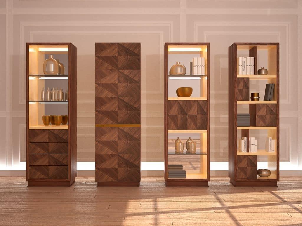 MB53 Desyo, Möbel Für Wohnzimmer Und Esszimmer In Einem Klassischen  Zeitgenössischen Stil