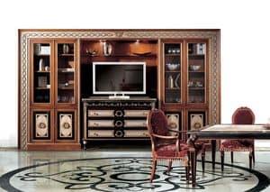Paradise C/517, Bibliothek der klassischen Luxus, für Wohngebiete
