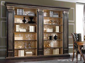 Royal Bücherregal, Bücherregal im klassischen Stil mit Säulen und Kapitellen