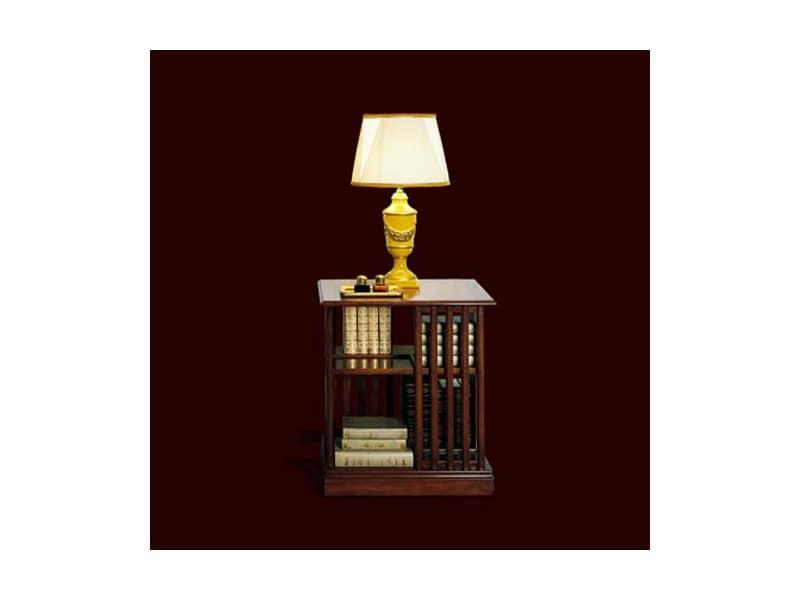 kleine drehb cherregal in der kirsche im klassischen stil. Black Bedroom Furniture Sets. Home Design Ideas