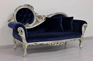 Monet Blue, Chaiselongue Rokokostil
