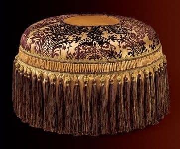 Albina pouf, Luxury klassischen runden Hocker