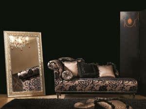 DAISY Chaise longue 8545L, Chaise longue, getuftet, für Luxus klassische Büro
