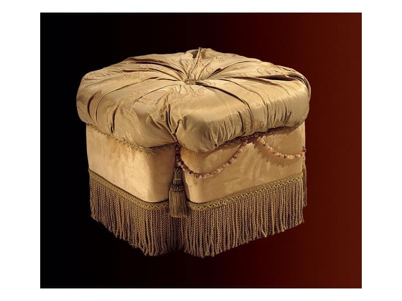 Nathalia pouf paradise, Polster Puff für Wohn- und Schlafzimmer, im klassischen Stil