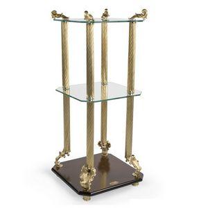 2014, Klassischer Luxus-Couchtisch mit Tischplatten aus gehärtetem Glas