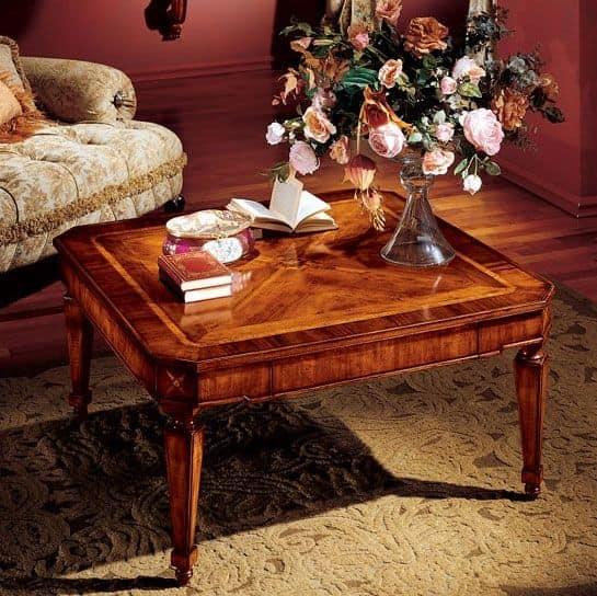 Albina coffee table, Luxury klassische Couchtisch