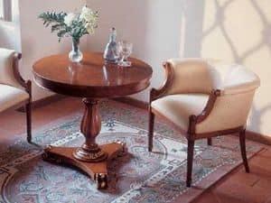 Art. 1070, Runder Couchtisch für klassische Wohnzimmer