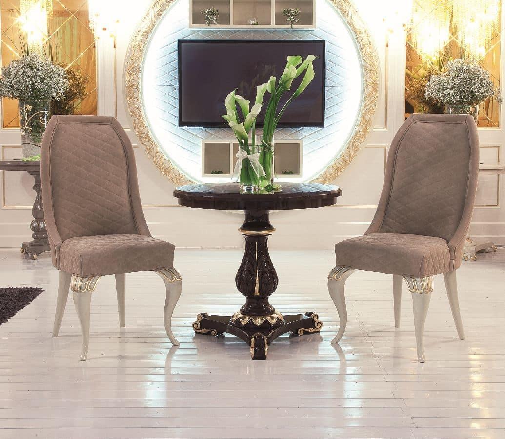 luxus wohnzimmer tische: Tische kleine Tische klassische Stil Luxus und klassisch rundlich