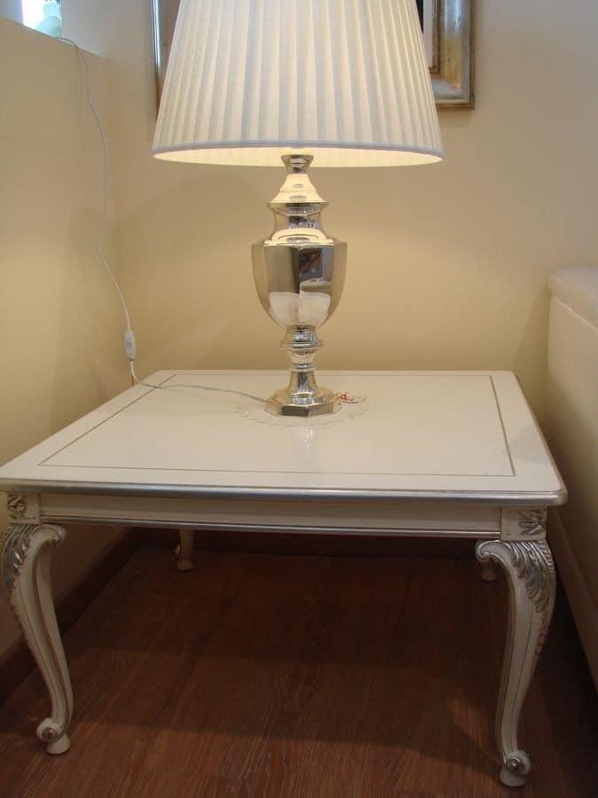 luxus wohnzimmer tische: Tische kleine Tische klassische Stil Luxus und klassisch quadratisch ~ luxus wohnzimmer tische