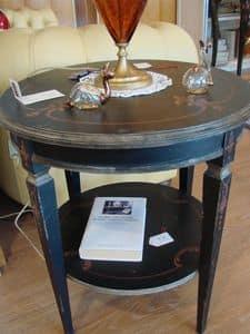 Art. 319, Runder Tisch, mit zwei Spitzen, für klassische Wohnzimmer
