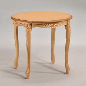 BRIANZOLO runden Couchtisch 8075TL, Deluxe kleinen runden Tisch, für die klassische Lesesaal
