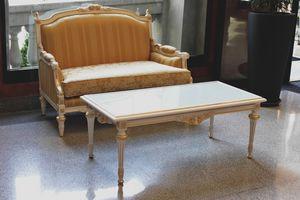 Impero Couchtisch, Klassischer Couchtisch für Wohnzimmer