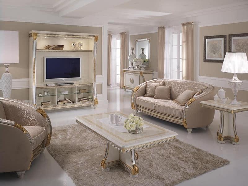 Couchtisch f r wohnzimmer holz von hand verziert f r for Couchtisch luxus