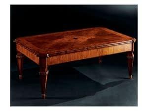 Maggiolini coffee table 798, Luxury klassische Couchtisch aus Holz geschnitzt