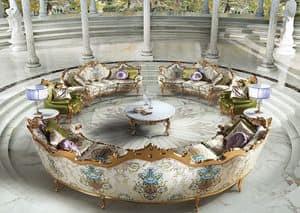 Millionaire B/1804/1, Runder Tisch Zentrum, Aufenthaltsräume für die klassischen Luxus