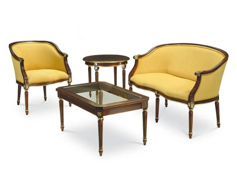 couchtisch in buche beine handgefertigt glasplatte. Black Bedroom Furniture Sets. Home Design Ideas