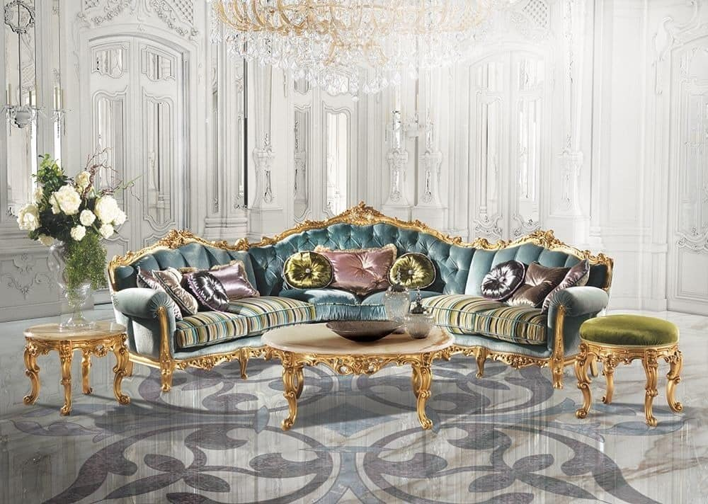 luxus wohnzimmer tische:Saint Germain A/2714, Klassischer Luxus Tisch in der Mitte