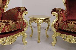 Stradivari small, Glamour barocken kleinen Tisch