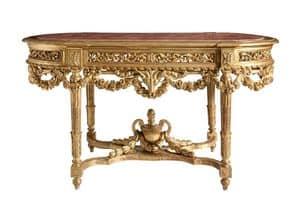 TISCH / KONSOLE ART. TL 0013, Klassische geschnitzten Konsolen-Tisch für die Eingänge