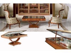 TL30 Libro kleiner Tisch, Buch-förmigen Tisch, Anzeigen für Verzierungen