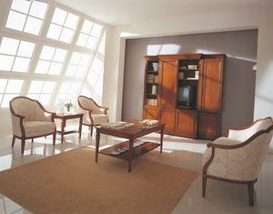 Villa Borghese Couchtisch 3372, Couchtisch im Directoire-Stil