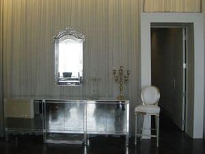 Rotondo weißes Leder, Hocker mit gepolstertem Sitz für Hotels