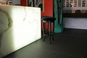 Club Stoff, Barhocker, leicht barock zeitgenössischen Stil